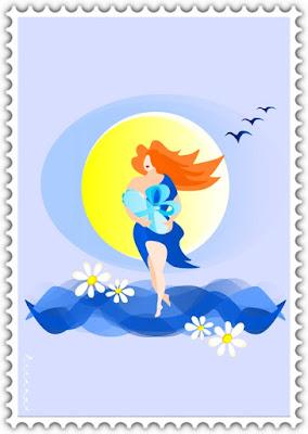 Рождение новой жизни / Весна шагает по планете / Мать и дитя   Красивые открытки бесплатно для вас / Beautiful postcards are free for you, p_i_r_a_n_y_a