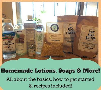 Learn how to make your own soaps and lotions at home to save money and avoid chemicals.