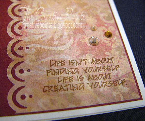 the creative pointe graduation card