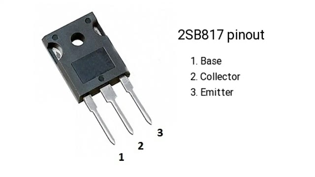 2SB817silicon PNP transistor.