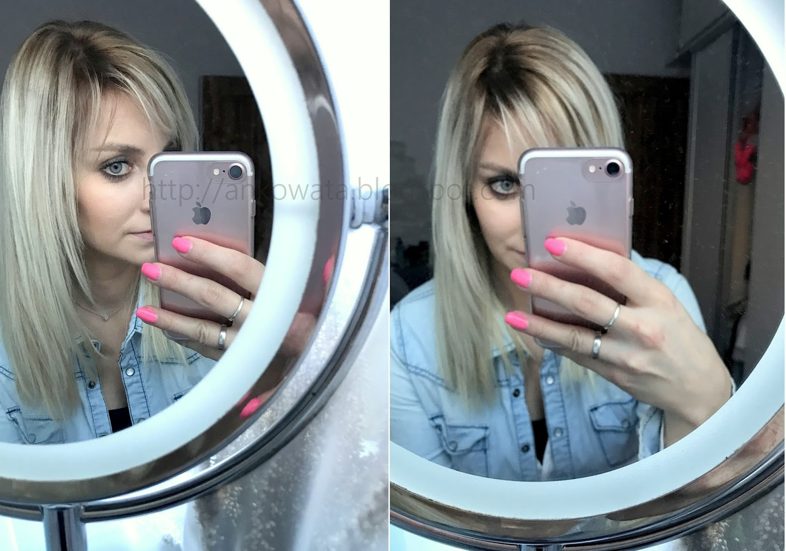 Metamorfoza Włosów Blond Sombre Na Głowie Anek Beauty Make Up