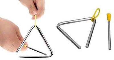 alat musik triangel