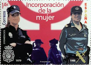 INCORPORACIÓN DE LA MUJER A LA POLICÍA NACIONAL Y GUARDIA CIVIL