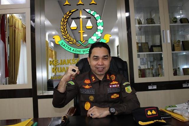 Mantan Bupati Kuansing Tersangka Kasus Enam Kegiatan di Sekretariat Daerah 2017