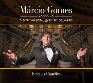 """MÁRCIO GOMES LANÇA O DVD """"ETERNAS CANÇÕES"""""""