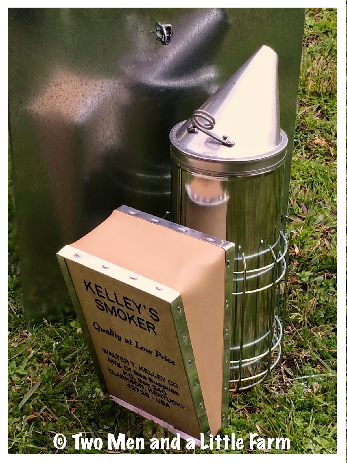 Two Men and a Little Farm: ESSENTIAL BEEKEEPING TOOLS AND