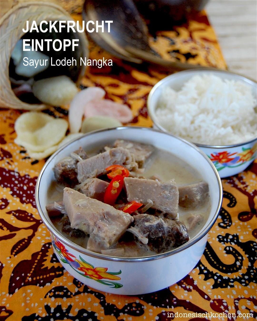 Rezept Jackfrucht Eintopf Balinesisch, Schnell und Praktisch