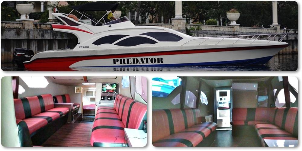 harga-Sewa-Kapal-Speedboat-Predator