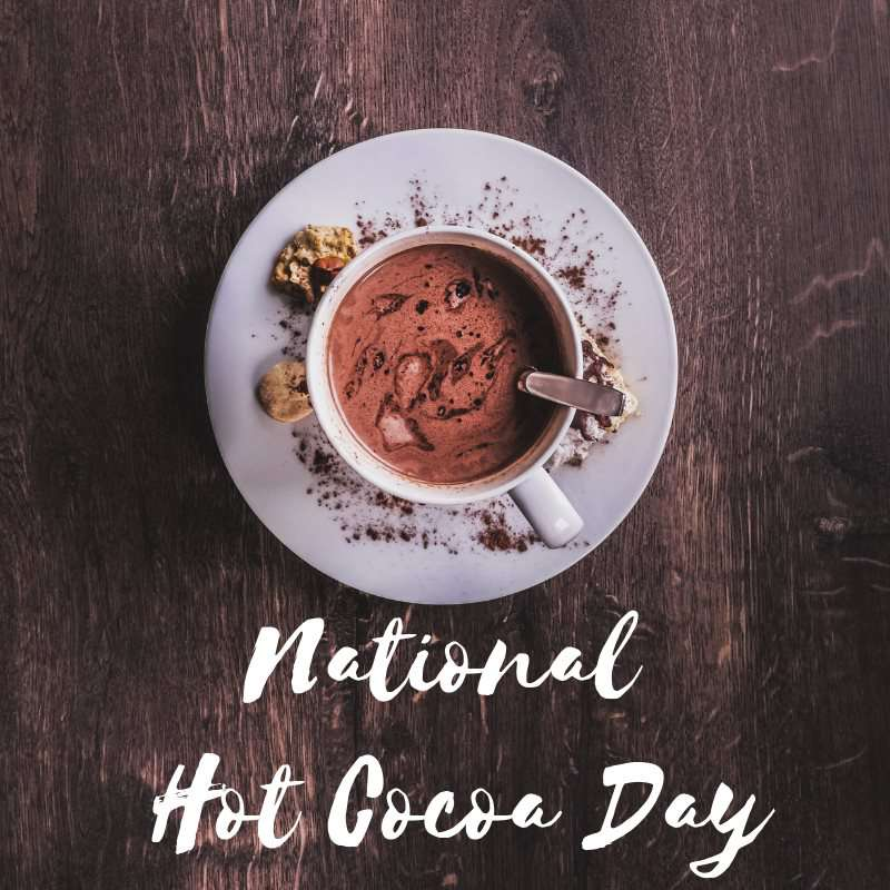 National Hot Chocolate Day Wishes Images download