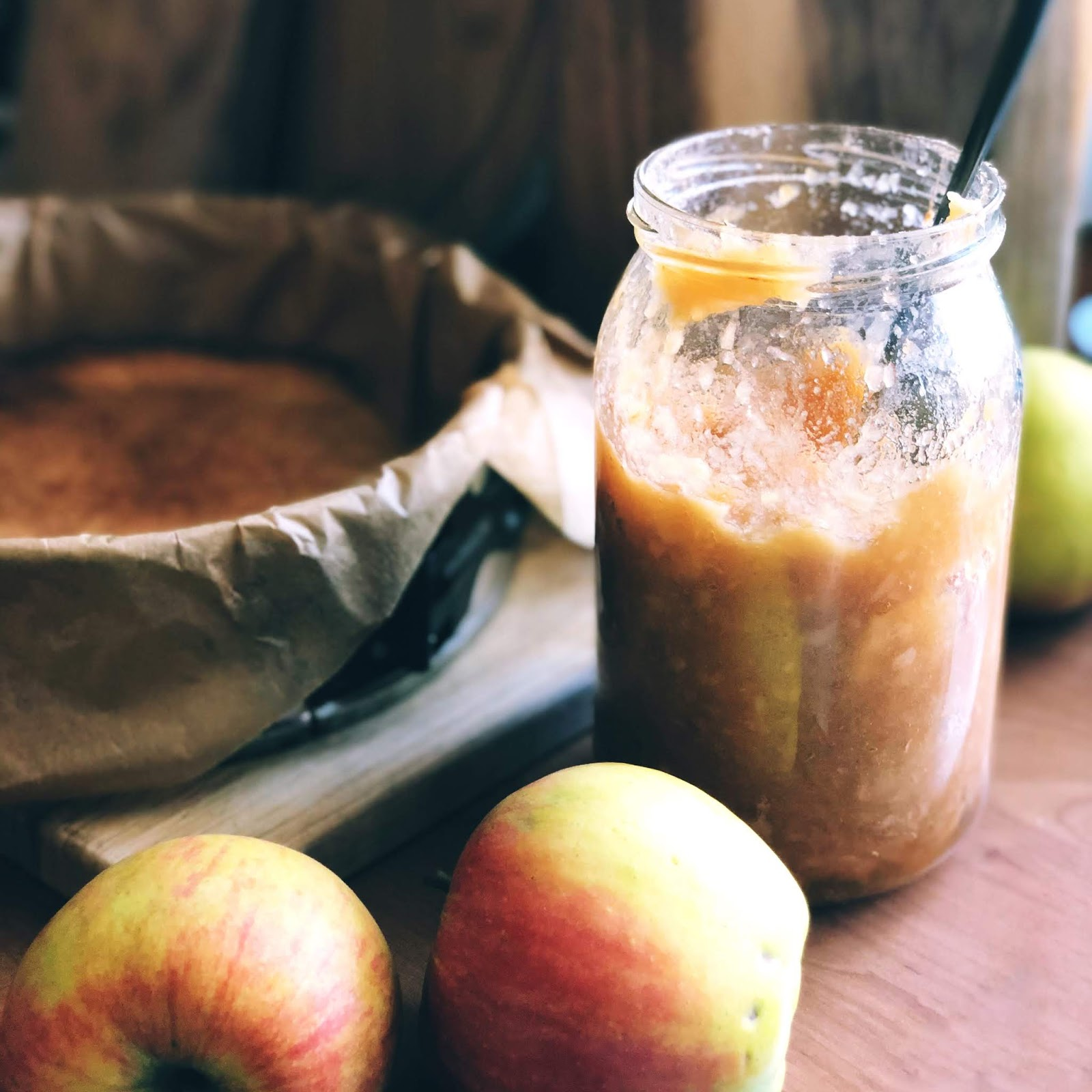 Prażone jabłka do szarlotki i nie tylko