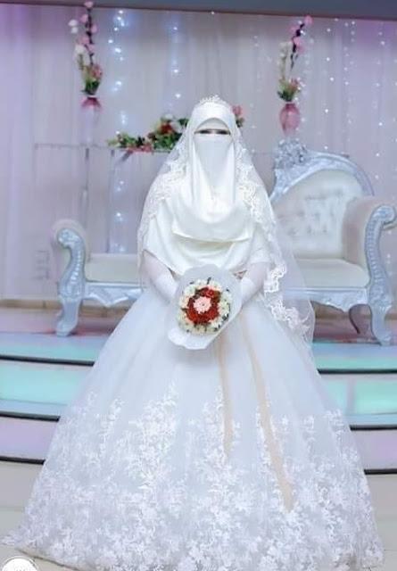 شاب تزوج بفتاة وكانت كما هي في الصورة