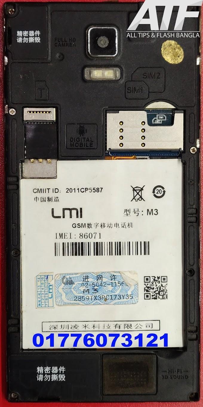 LINGMI M3 FLASH FILE FIRMWARE MT6572 STOCK ROM