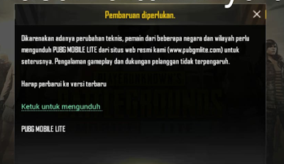 Cara Update PUBGM Lite Terbaru di Play Store Version 0.14.0 Agustus