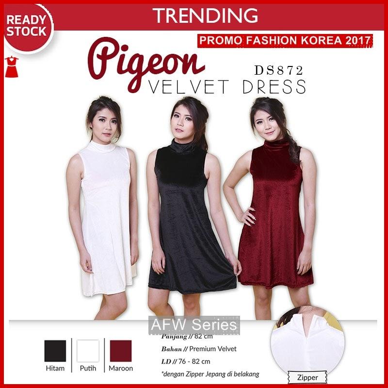 BAMFGW042 Pigeon Dress Gaun Wanita PROMO BMG