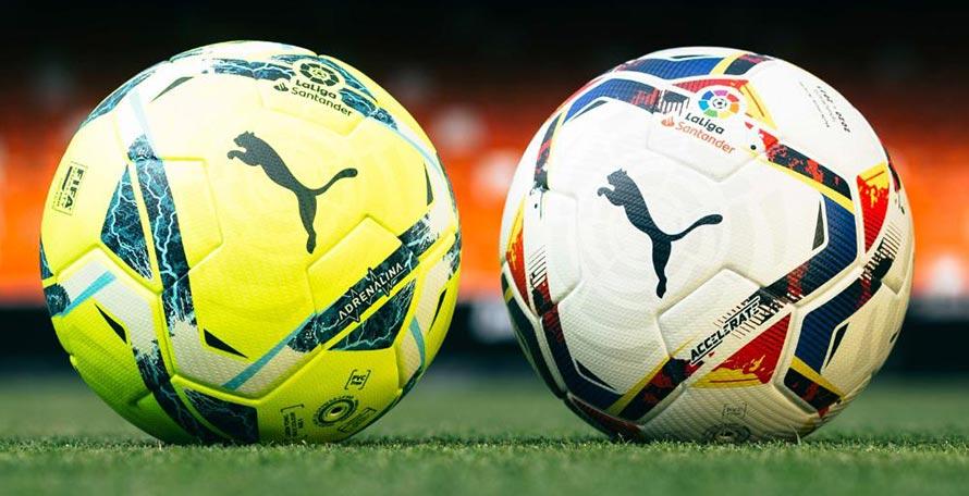 Puma La Liga 20-21 'Adrenalina' and 'Accelerate' Balls Released ...