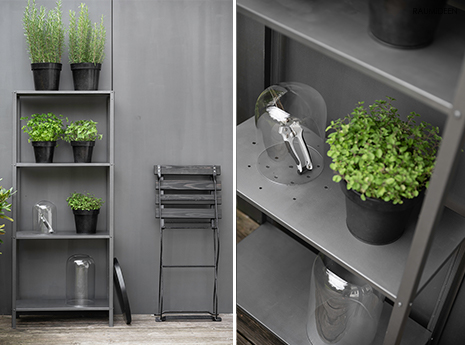 DIY-Kräuterregal für die Terrasse oder den Balkon - Ikeahack
