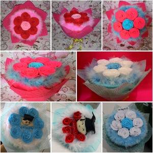 Jual Bunga Bucket flanel Lampung