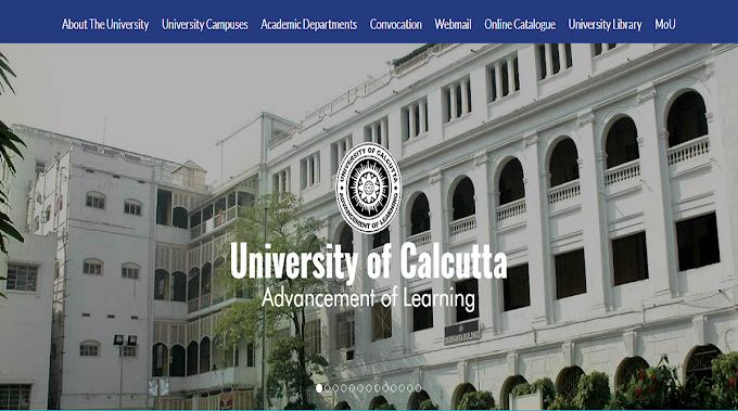 Calcutta University Jobs Recruitment 2020 - Ph.D. Program Posts