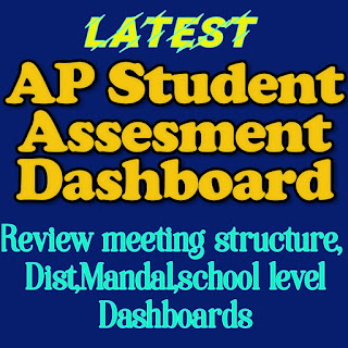 Launch and Usage of the Andhra Pradesh Assessment Dashboard for Review  Meetings and Data-backed Interventions - Orders issued - Reg. Ap student asawa ment dash board structure     Download..... Dash board proceedings    Dashboard - Review structure    Dash board Diffrent levels...State ,Dist . ,Mandal ,School levels    How to use AP student assessment dashboard