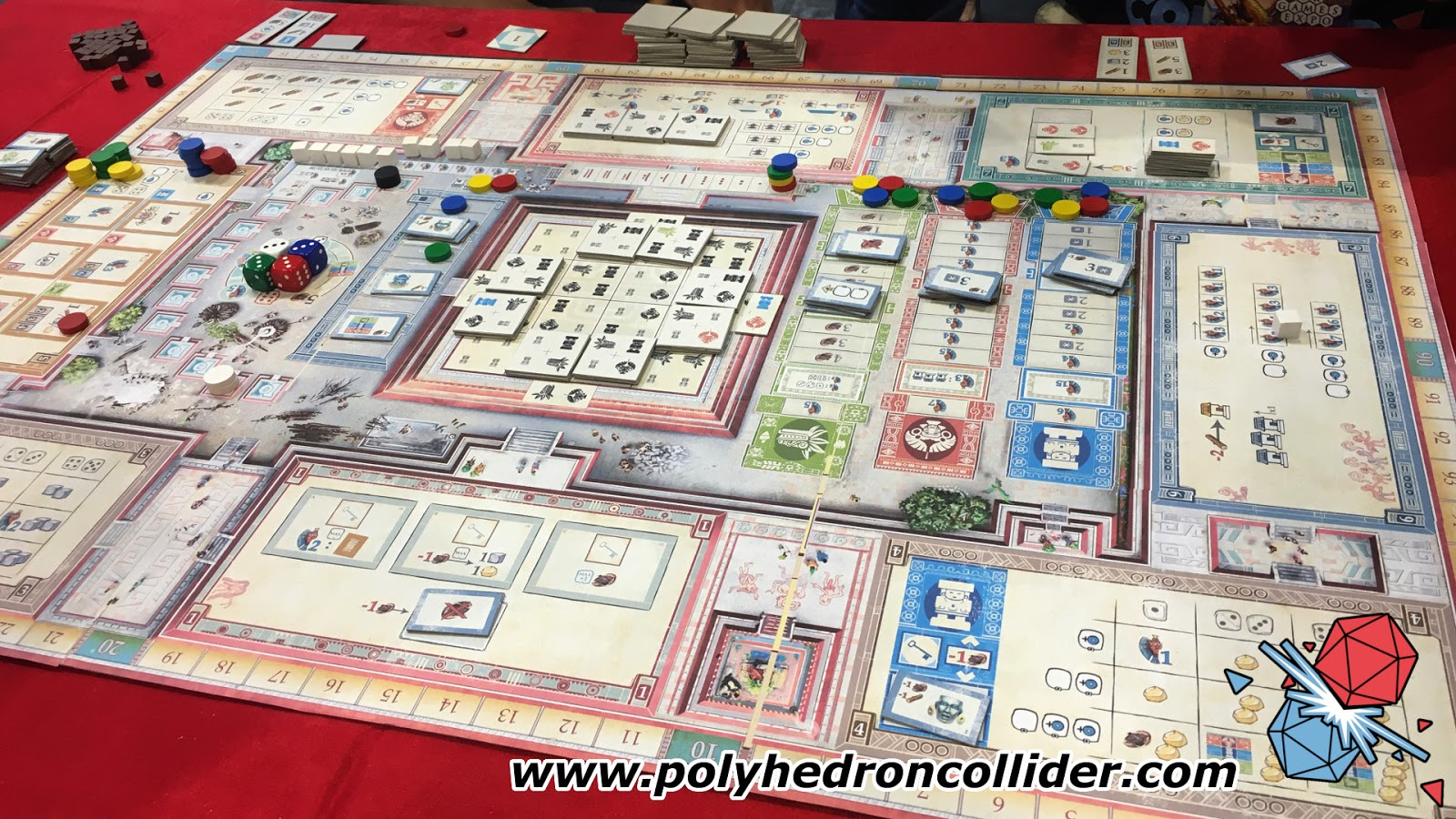 Teotihuacan City of Gods board game review