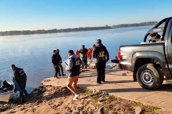Encontraron el cuerpo de Roberto Parente en el riacho Santa Fe