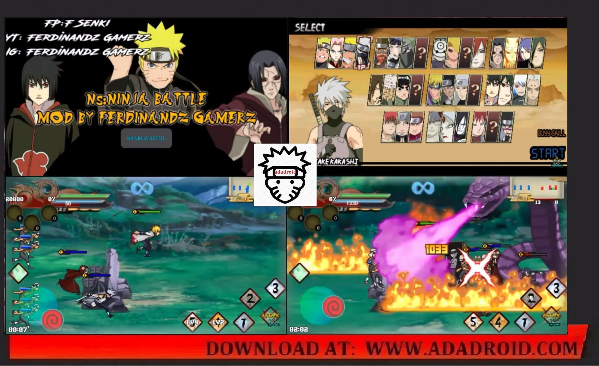 Naruto Senki Ninja Battle Mod
