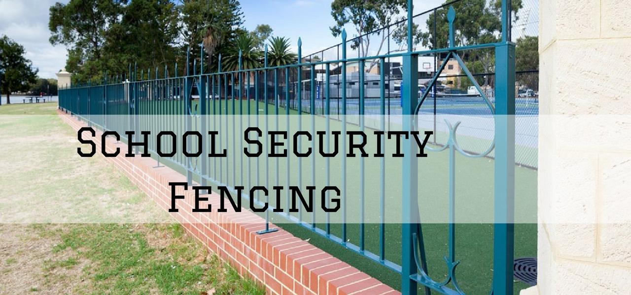 school security fence