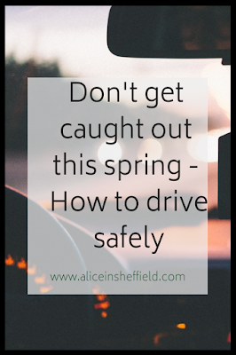 Driving Safely in spring