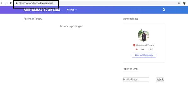 Bukti SSL atau HTTPS Gratis dari Situs Cloudflare