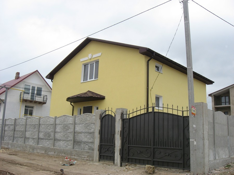 Отделка фасадов частных домов Севастополь