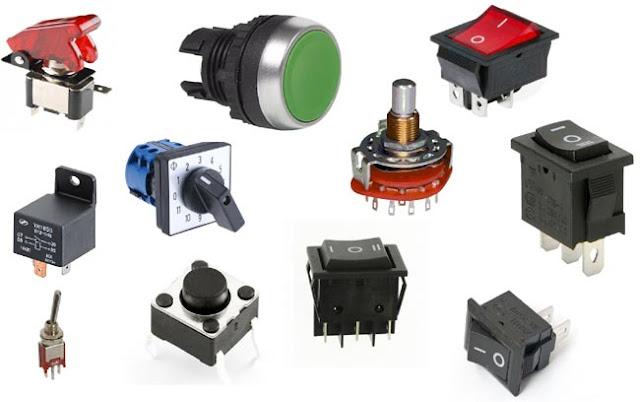 6 Common Type of Switches