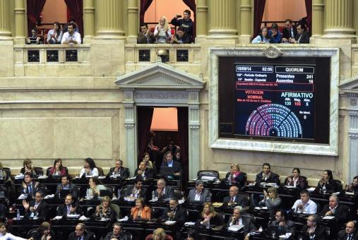Cámara de diputados de Argentina autoriza presupuesto de Macri