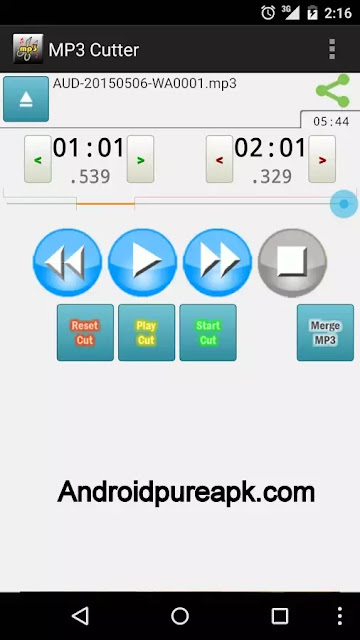 MP3 Cutter Pro Apk