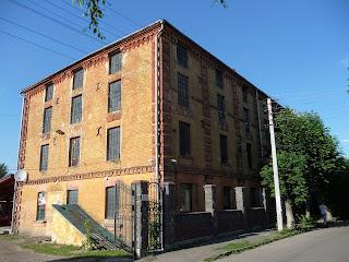Дубно. Производственное здание бывшей хмелевой фабрики