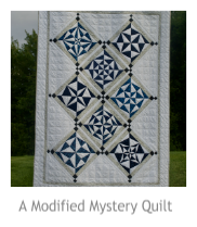 A Modified Mystery Quilt