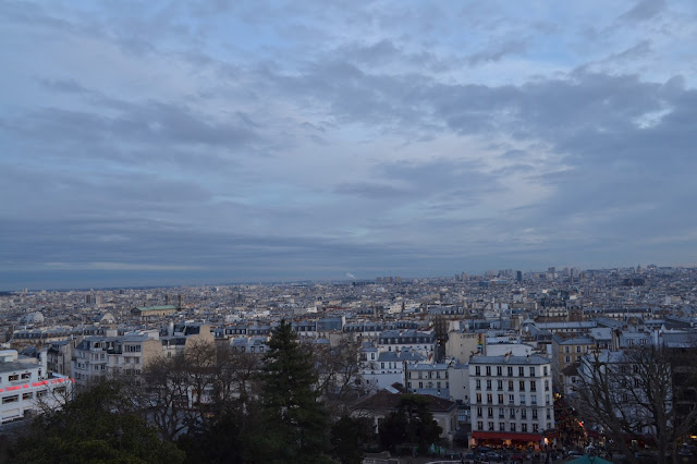 Panoramic view of Monmartre