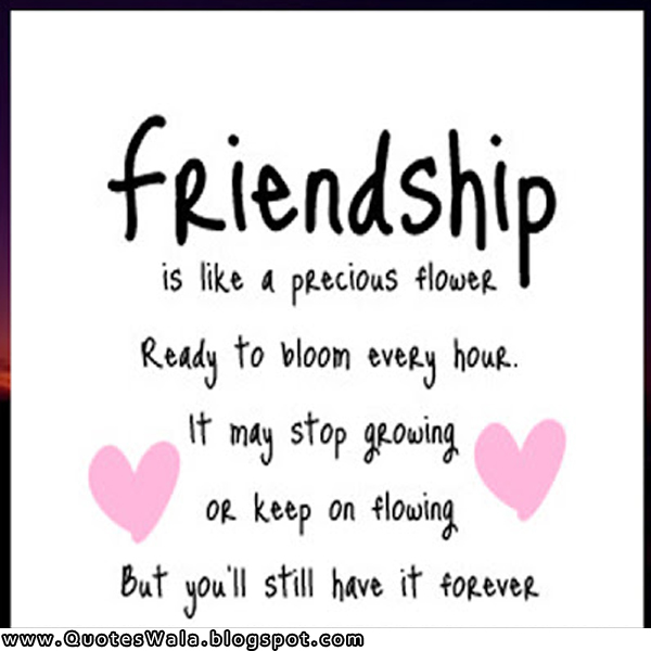 Adorable Friend Quotes: Daily Quotes At QuotesWala