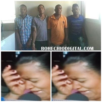 """"""" Trujillo aquí están"""" 4 de los 7 tipos que violaron sexualmente joven 26 años VIDEO"""