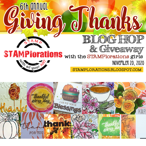 Stamplorations Giving Thanks Blog Hop