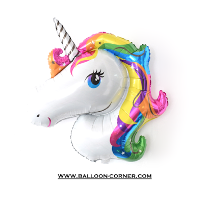 Balon Foil Rainbow Unicorn MEDIUM