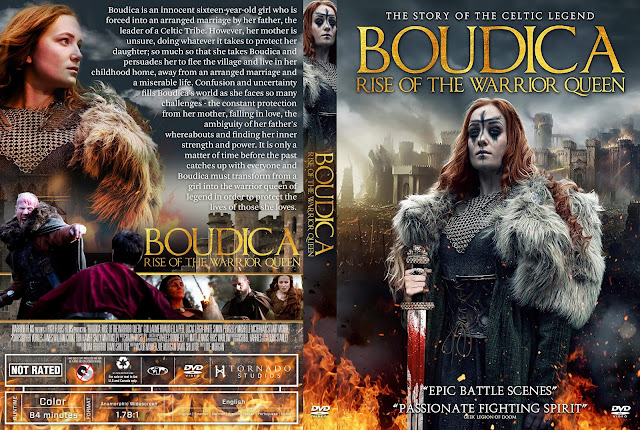 Boudica: Rise of the Warrior Queen DVD Cover