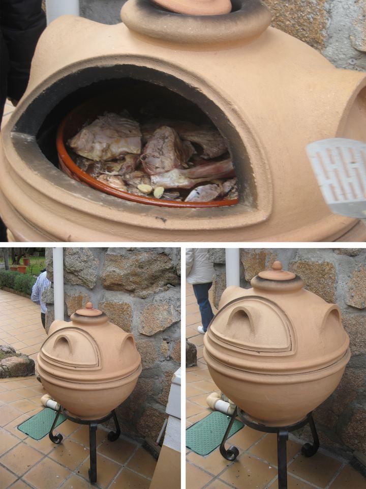 horno y barbacoa de lea para terrazas