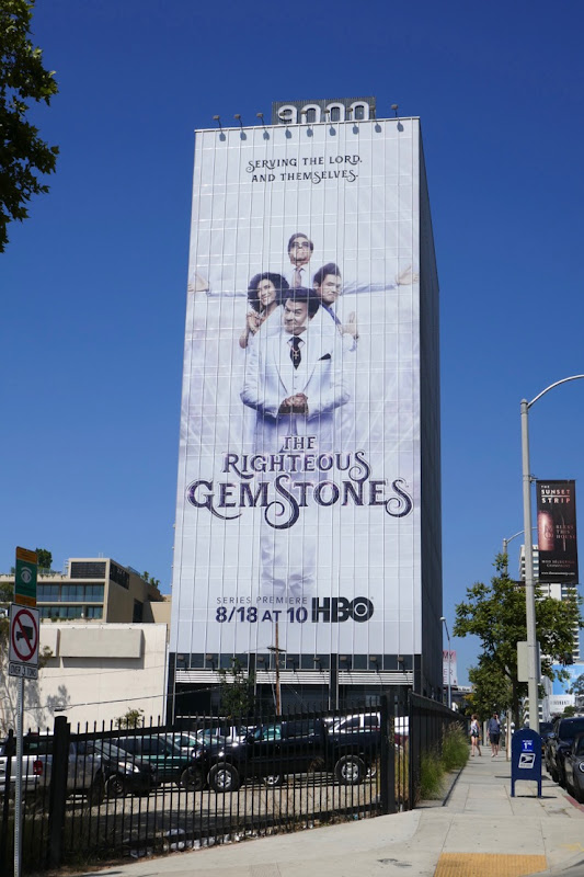 Righteous Gemstones series billboard