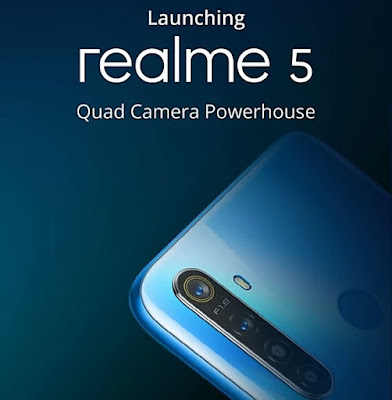 Realme 5 and 5 Pro variant set to launch on August 20