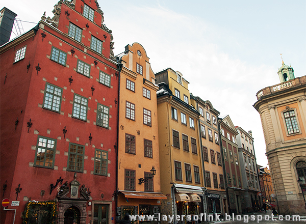 Layers of ink - Gamla Stan, Old Town, Stortorget