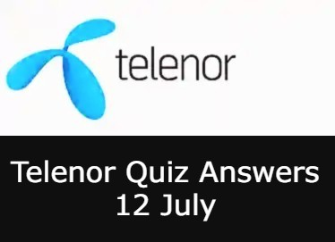 12 July Telenor Answers Today