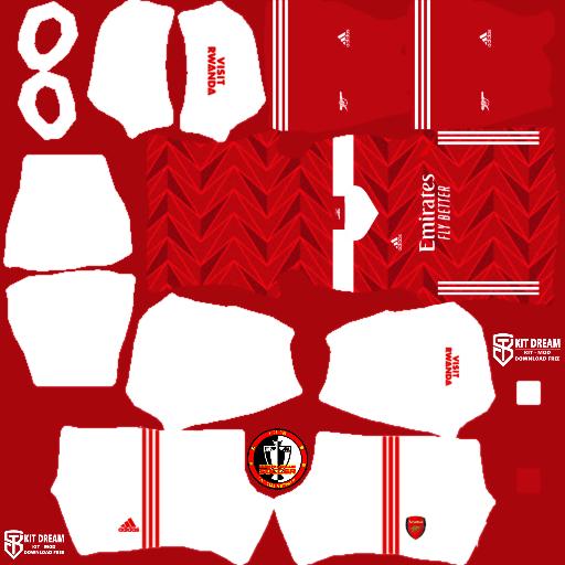 Kits Arsenal 2021 - Dream League Soccer 2021