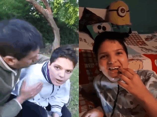 """""""Un año después de tomar aceite de cannabis"""": el emocionante video de un chico con autismo que se hizo viral"""