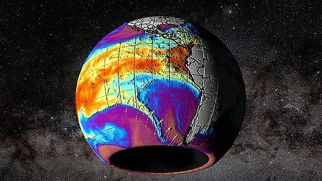 Detectada enorme anomalía magnética que surge en la Antártida
