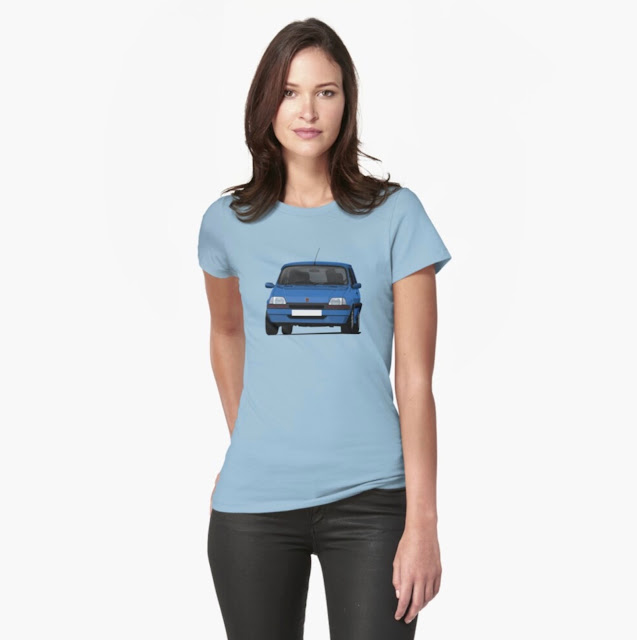 Blue Rover Metro GTi T-shirt